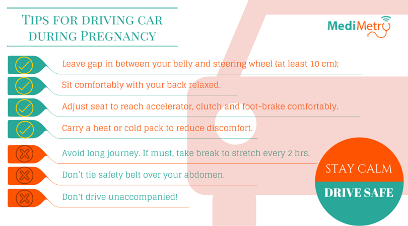 Tips for Driving Car during pregnancy