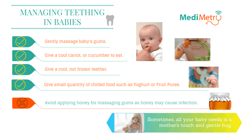 Managing Teething in Babies