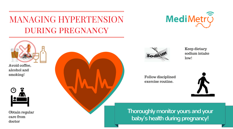 Managing hypertension during pregnancy