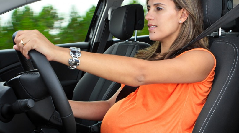 Accurate Posture While Driving During Pregnancy