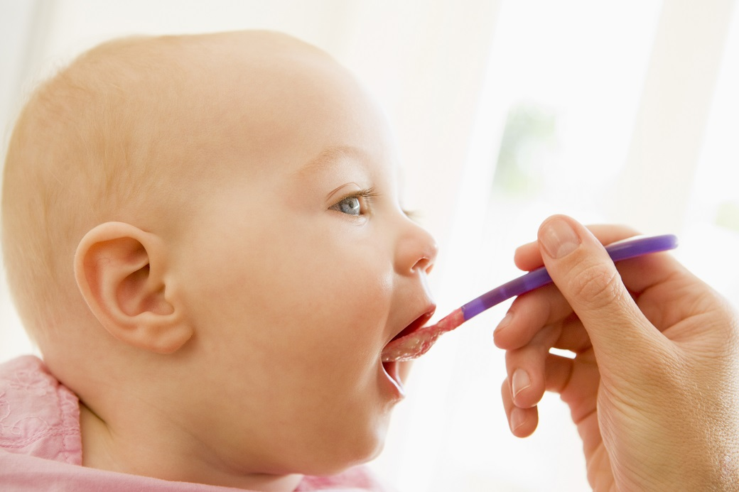When to start infant on solid foods?